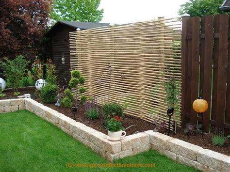 Ideen F R Sichtschutz 5795 by Deko Garten Ideen Sichtschutz Nowaday Garden