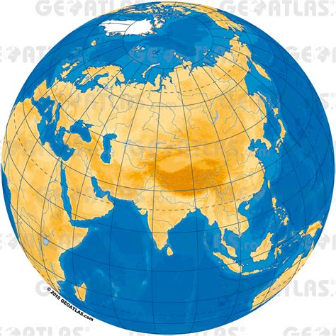 globe map of asia geoatlas world maps and globe globe asia map city