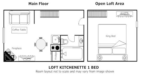 room layout meaning banff hotel rooms loft with kitchenette jacuzzi suites