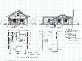 cabin plans with loft and porch