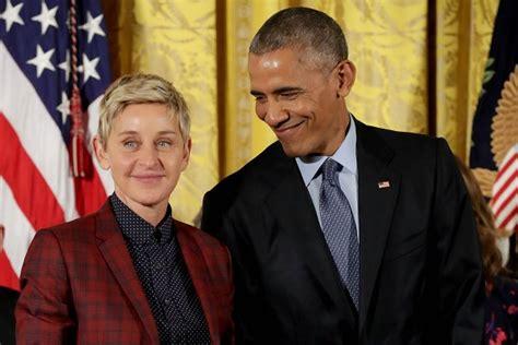 Degeneres Starts A Barack by Ini 21 Tokoh Yang Menerima Penghargaan Presidential Medal