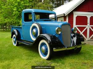 1935 chevy 1 2 ton up truck solid