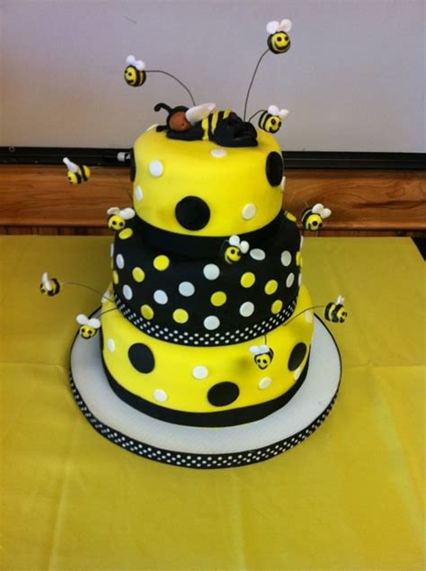 Bumble Bee Cakes For Baby Shower by Bay Bee Shower Cake Cakecentral