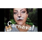 Maquillaje Carnaval  Tigre Muy F&225cil YouTube