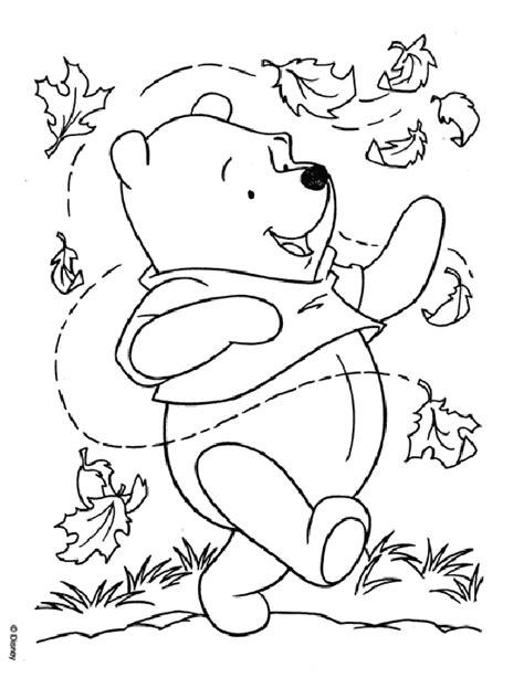fall coloring pages for infants 17 dessins de coloriage winnie l ourson b 233 b 233 224 imprimer