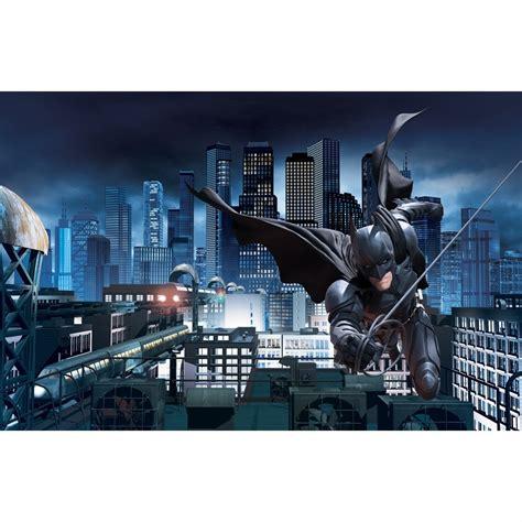 batman wall mural boys wall murals batman cars superman starwars green lantern ebay