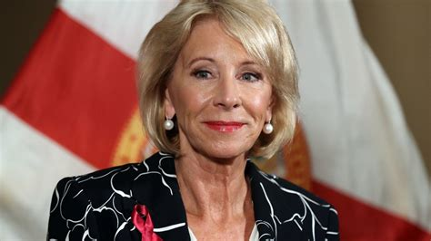 betsy devos interview education secretary betsy devos stumbles during pointed