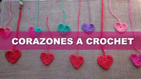 tutorial in español xcode 6 crochet tutorial corazones a crochet en 6 pasos manta