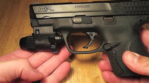 Smith And Wesson Micro 90 Tactical Light Youtube