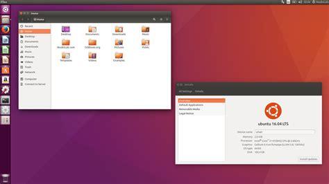 ubuntu l ubuntu 16 04 xenial xerus features overview screenshots