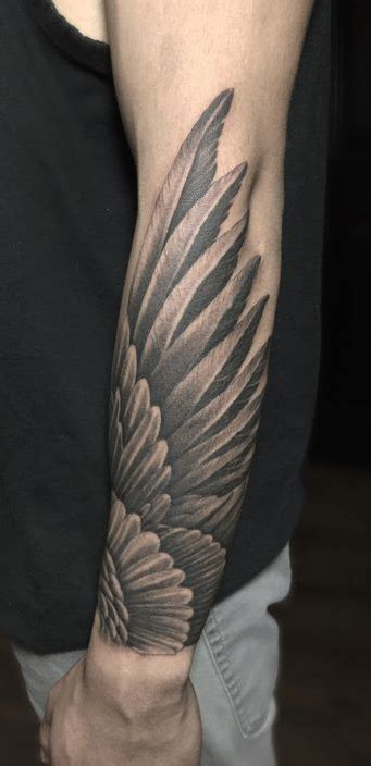 forearm tattoos designs for guys forearm wing designs ideas and meaning tattoos