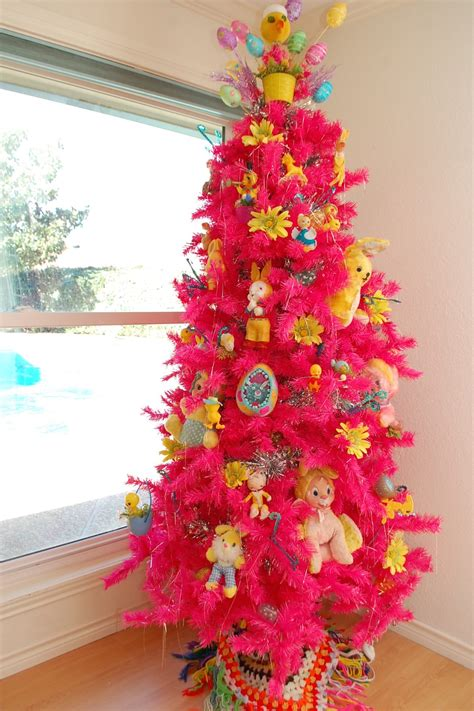 Home Decor Trends Spring 2017 Decorating For Easter Using A Christmas Tree Jennifer