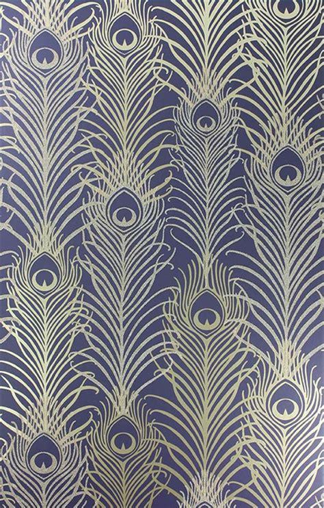 V25 Wallpaper Sticker Motif Vintage Blue Gold surface book peacock wallpaper wallpapersafari