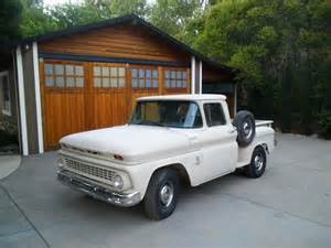 sell used 1963 chevrolet shortbed stepside 4 speed