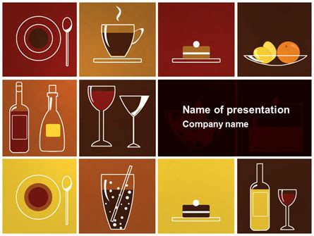 restaurant layout powerpoint canteen powerpoint templates and backgrounds for your
