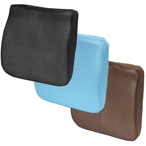 3d Mesh Memory Foam Seat Cushion Lower Back Lumbar Support Cushions For Office Desk Chairs