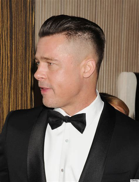 lawless movie 2014 hairstyles brad pitt s new hair is for a movie but we re hoping he