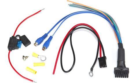 bazooka speaker wiring harness bazooka subwoofer wiring