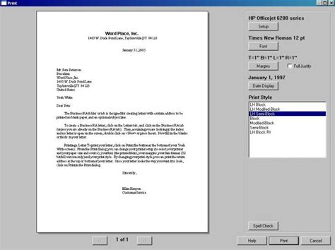 Business Letter Writing Software Yeah Write