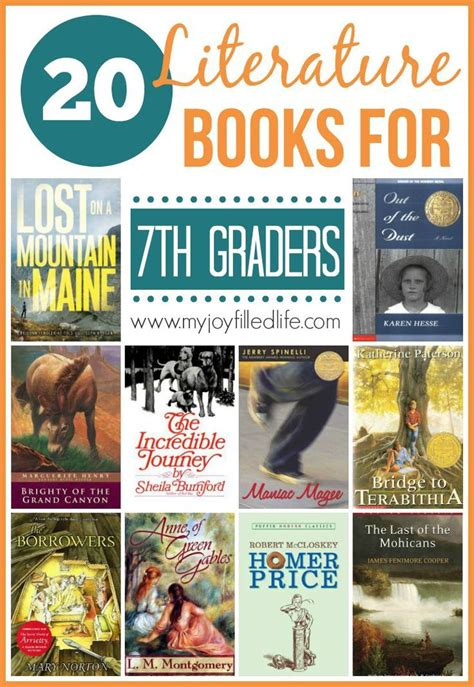 20 literature books for 7th graders my joy filled life book reports에 관한 12개의 최상의 pinterest 이미지 영어 침대 및 학교