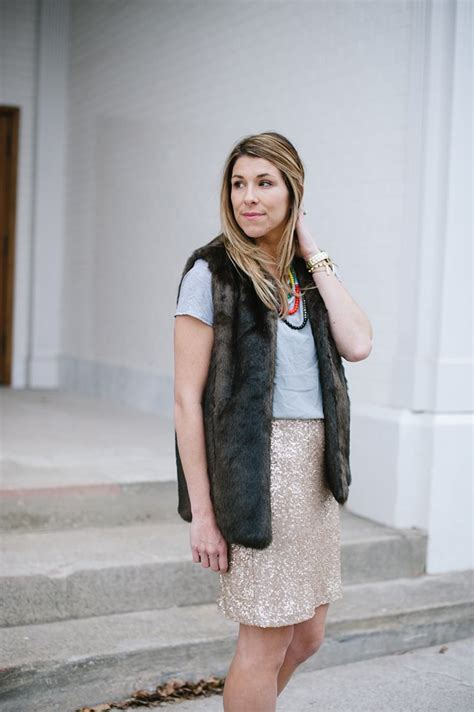 outfit post simple sequins lou  wear