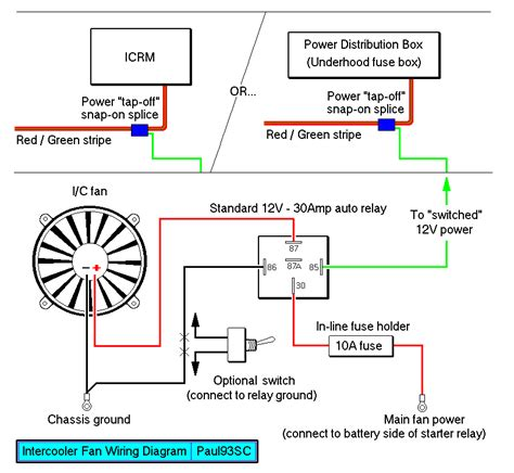 rad fan direct wiring s