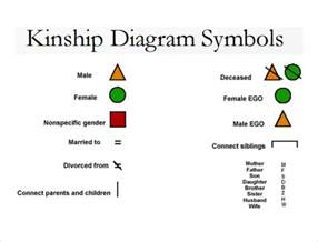 symbol templates sle kinship diagram template 9 free documents in pdf