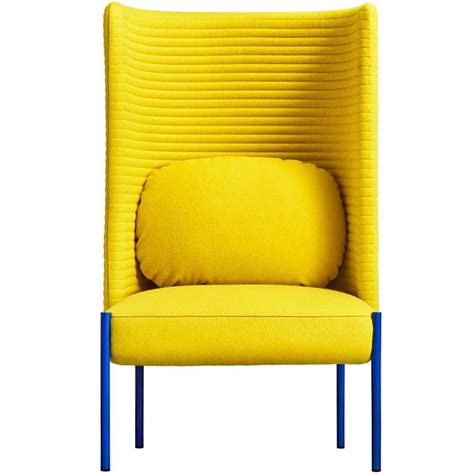 yellow armchair ara yellow armchair by perezochando for sale at 1stdibs