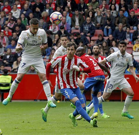 imagenes real madrid sporting el sporting real madrid en im 225 genes elcomercio es