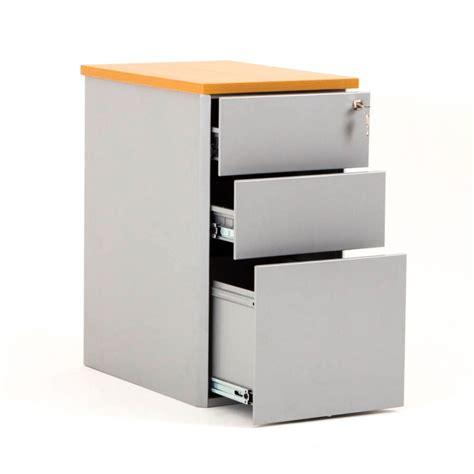 tiroir en metal caisson hauteur bureau cub m 233 tal avec top en bois bdmobilier