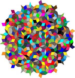 colorful the clipart colorful penrose tiles