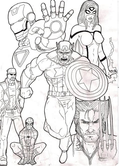 blank coloring pages avengers free printable avengers coloring pages get coloring pages
