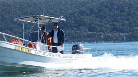 boat license victoria course boat licence