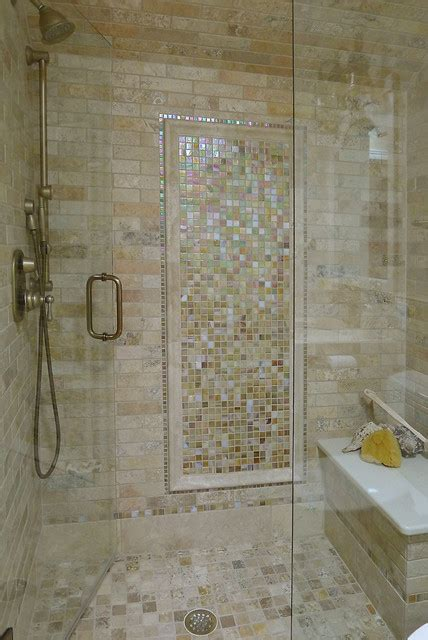 glass tile for bathrooms ideas limestone and glass tile bathroom traditional bathroom minneapolis by laurie plattes