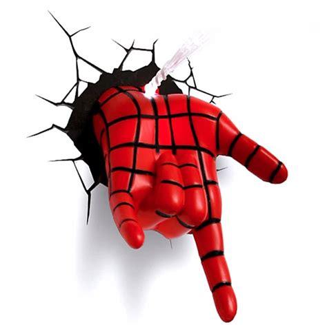 imagenes en 3d del hombre araña l 225 mpara de noche 3d spiderman lanza telara 241 a marvel