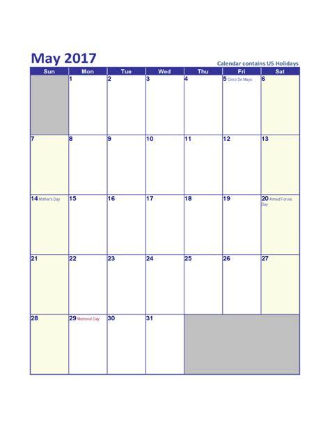 edit calendar template may 2017 calendar template edit fill sign