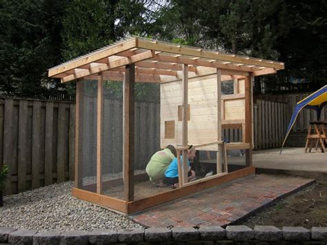 Handmade Chicken Coops - chicken coop the owner builder network