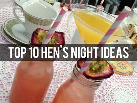 party themes hens night top 10 hen s night ideas