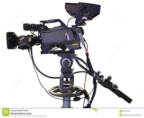 camaras tv tv professional studio digital isolated on