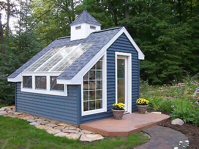 greenhouse garden shed    project building plans