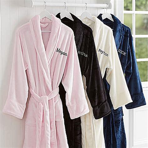 bathrobe bed bath and beyond classic comfort luxury fleece robe bed bath beyond