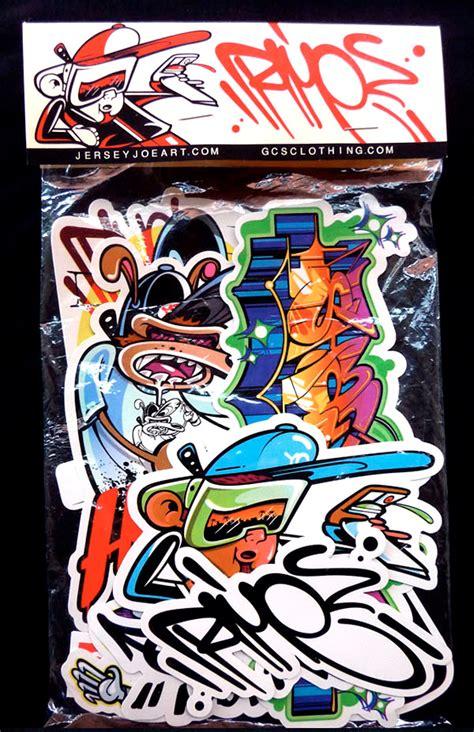 graffiti stickers  graffitianz