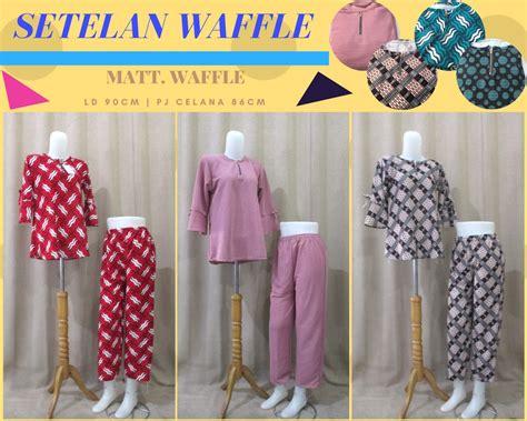 Grosir Bawahan Wanita Gisela Waffle Murah produsen setelan waffle wanita dewasa terbaru murah di 55ribu