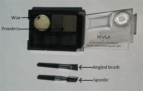 Eyebrow Cake Powder Blackgrey By Nyx nyx eyebrow cake powder in black gray review