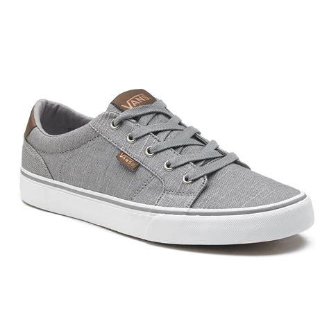 large selection vans bishop mens skate shoes gray brindle