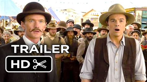film cowboy recent a million ways to die in the west official trailer 1