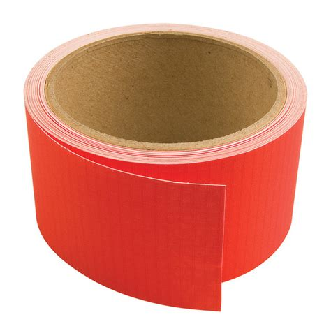 upholstery repair tape products repair tape adhesive backed ripstop red 2 quot x 25 sailrite