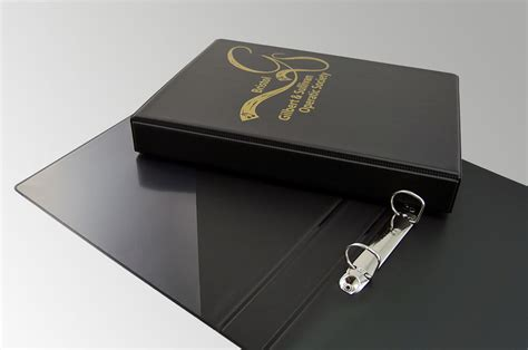 Binder Tasmania 20 Ring custom a4 pvc binder with clear pocket