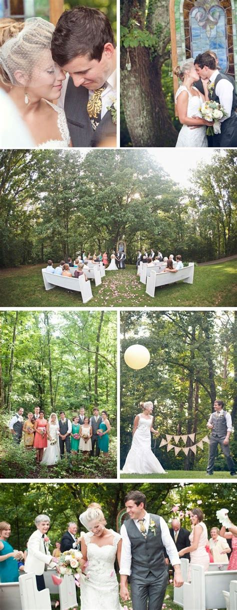 how to set up a backyard wedding real wedding cassie bennet intimate backyard diy wedding carni