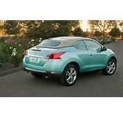 2012 Nissasn Murano Crosscabriolet Rear Three Quarters Photo 3